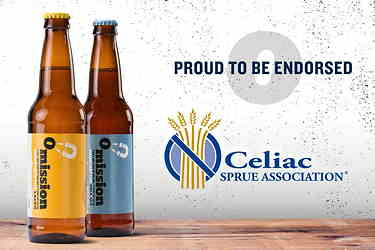 Omission Beer Endorsed by Celiac Sprue Association